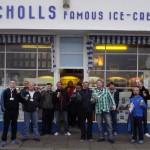 Outside the World-Famous Nicholls